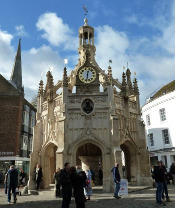 Image showing the 16th century Market Cross in Chichester city centre