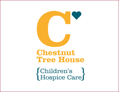 Image showing the logo for the Chestnut Tree House Children's Hospice Care charity