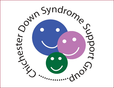Image showing the Chichester Down Syndrome Support Group logo