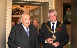 Image showing the Duke of Richmond and Gordon with the Mayor, Councillor Brown, on the occasion of the receipt of the Freedom of the City of Chichester