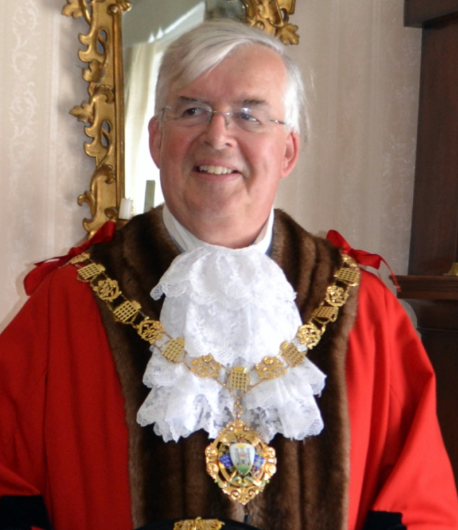 Past Mayor of Chichester - Councillor Plowman - 2019-21 and 2005-06