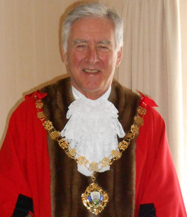 Past Mayor of Chichester - Councillor Bell - 2018-19
