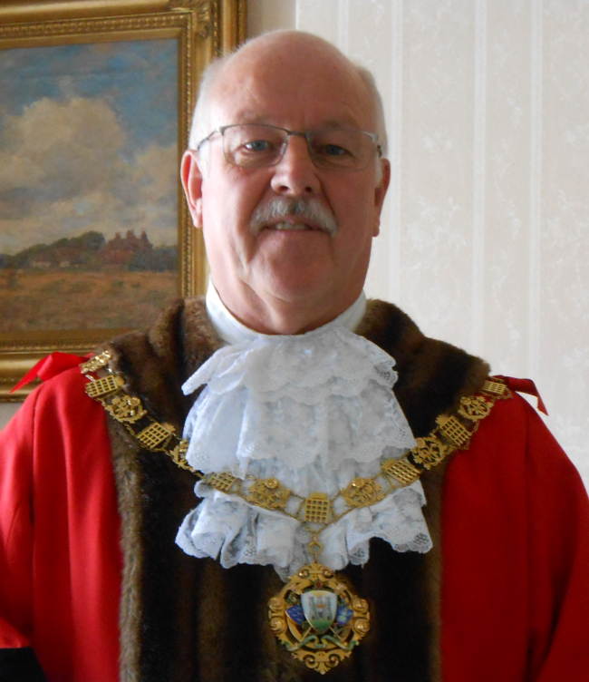Past Mayor of Chichester - Councillor Evans - 2017-18