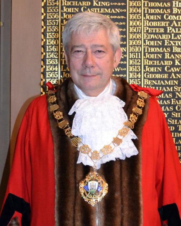 Past Mayor of Chichester - Councillor Budge - 2015-17
