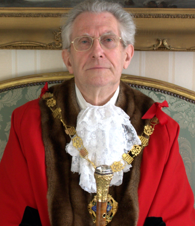Past Mayor of Chichester - Councillor Chaplin - 2013