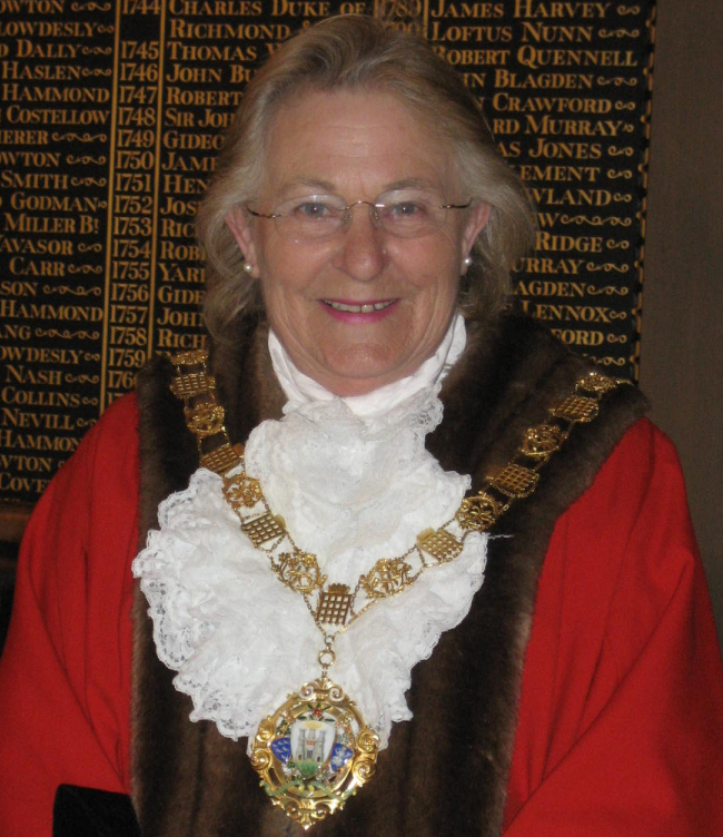 Past Mayor of Chichester - Councillor Scicluna - 2012-13 and 1993-94