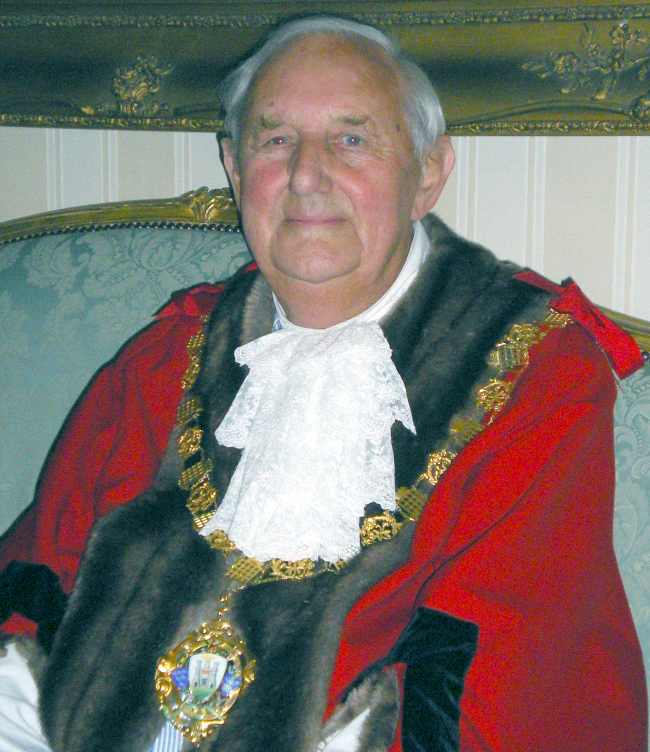 Past Mayor of Chichester - Councillor T French - 2011-12