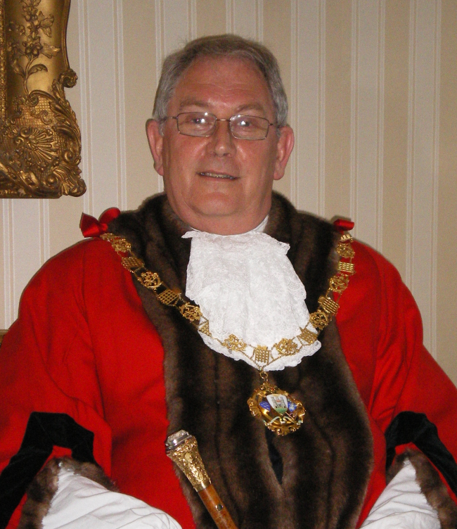 Past Mayor of Chichester - Councillor Siggs - 2008-09
