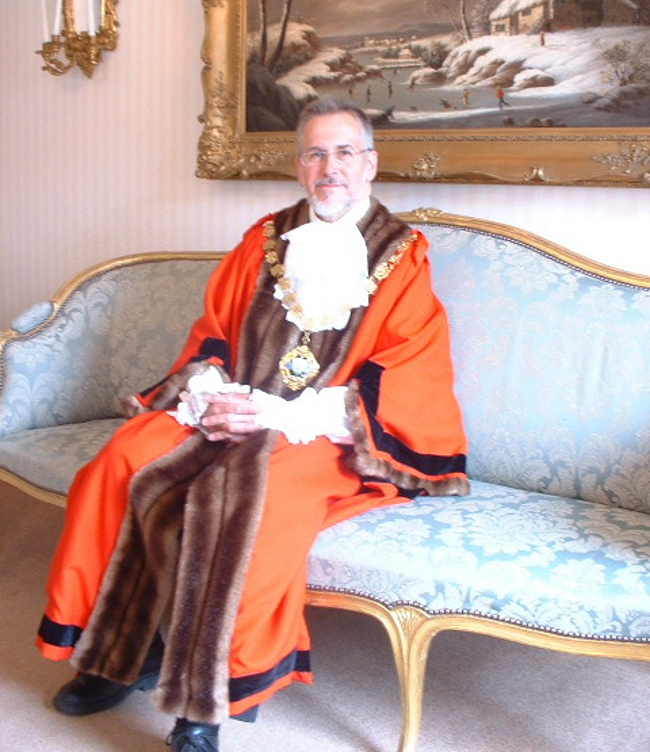 Past Mayor of Chichester - Councillor Campling - 2006-07