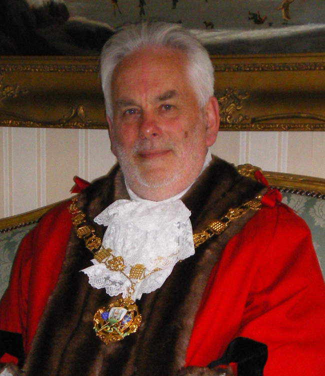 Past Mayor of Chichester - Councillor Woolley - 2009-11