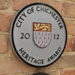 City Council Heritage Award plaque, 2012, 40 North Street