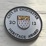 City Council Heritage Award plaque, 2012, St Marys Hospital