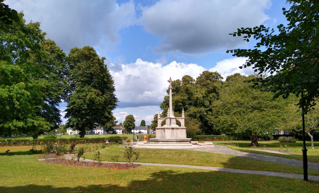 Litten and War Memorial from the south west corner