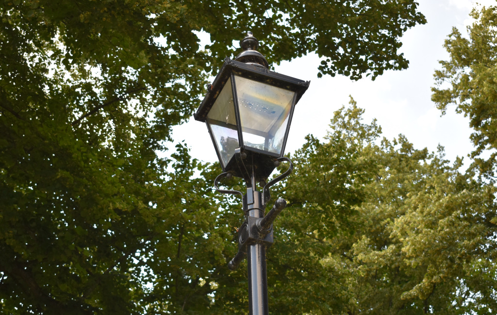 Chichester City Council heritage lamp post, Litten Gardens