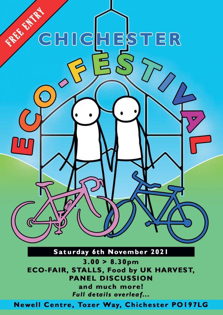 Eco Chi festival - November 2021 - flyer